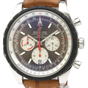 Breitling Chrono-Matic Automatic Stainless Steel Men's Sports Watch A14360
