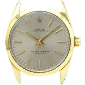 Rolex Oyster Perpetual Automatic Gold Plated Men's Dress Watch 1024