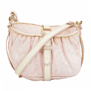 Auth Celine Shoulder Bag C Macadam Shoulder Bag Women's Shoulder Bag Pink