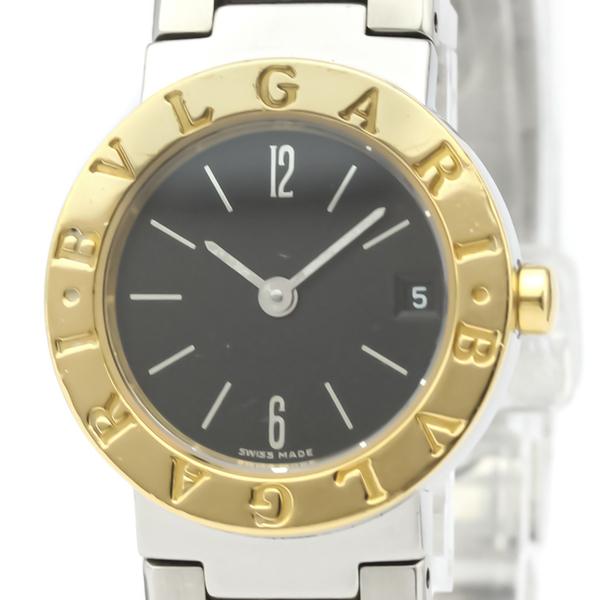 Bvlgari Bvlgari Bvlgari Quartz Stainless Steel,Yellow Gold (18K) Women's Dress Watch BB23SGD