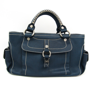 Celine Boogie Women's Leather Handbag Navy