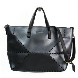Furla Jolly Women's Leather,Leather Handbag,Shoulder Bag Black,Metallic Black