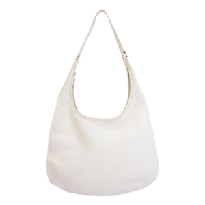 Auth Hermes Evelyn  □DStamp Women's Taurillon Clemence Leather  White
