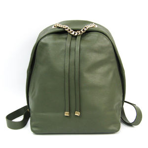 Furla Women's Leather Backpack Green