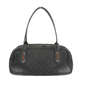 Auth Gucci Sherry Line Shoulder Bag 293594 Women's Shoulder Bag Black
