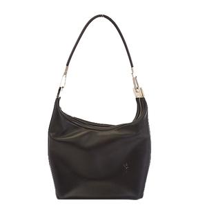 Auth Gucci  Shoulder Bag 001 3814 Women's Leather Shoulder Bag Black