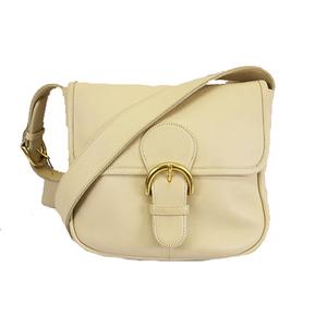 Auth Coach Shoulder bag 4164 Women's Leather Shoulder Bag Ivory