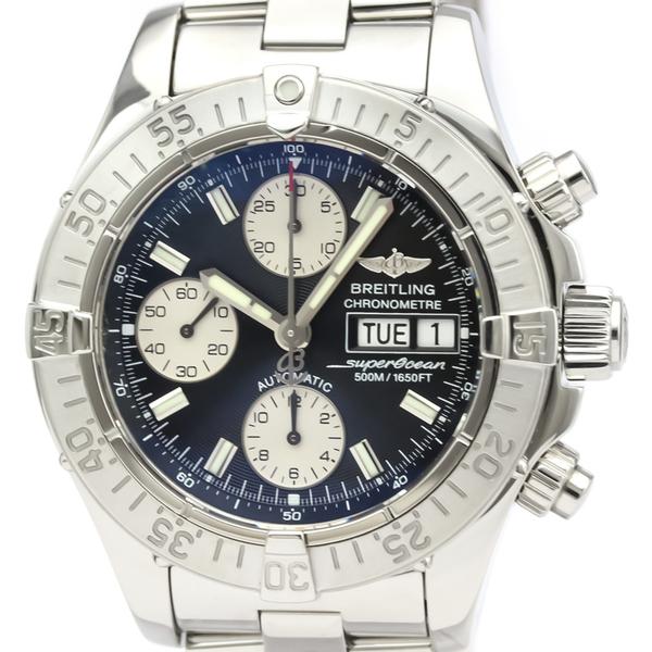 BREITLING Chrono Super Ocean Steel Automatic Mens Watch A13340