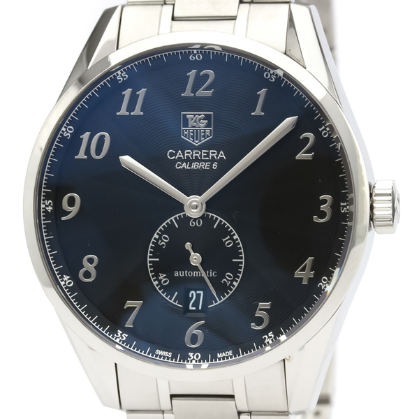 Tag Heuer Carrera Automatic Stainless Steel Men's Sports Watch WAS2110