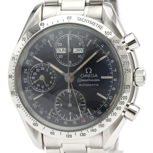OMEGA Speedmaster Triple Date Steel Automatic Watch 3521.80