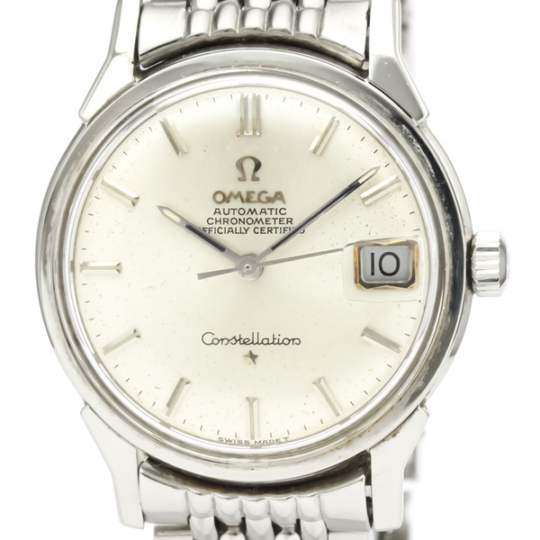 Omega Constellation Automatic Stainless Steel Men's Dress Watch 168.005