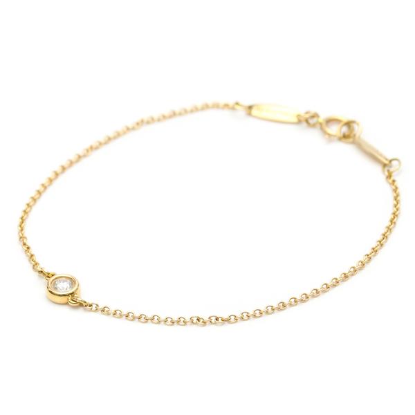 Tiffany Diamonds By The Yard Pink Gold (18K) Charm Bracelet