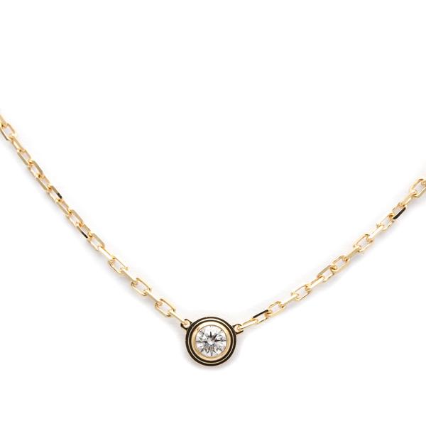 Cartier Diamants Légers De Cartier B7215700 Pink Gold (18K) Diamond Women's Pendant Necklace Carat/0.09