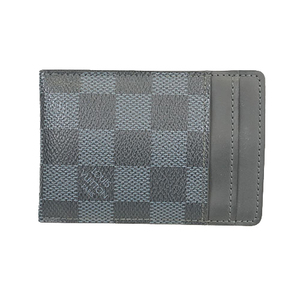 Auth Louis Vuitton Damier Cobalt Porto Cult Pans N63217  Card Case