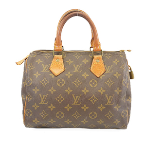 Auth Louis Vuitton Monogram Speedy 25 M41528 Women's Handbag