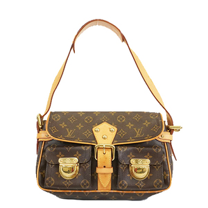Auth Louis Vuitton Monogram M40027 Women's Shoulder Bag