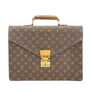 Auth Louis Vuitton Monogram Briefcase Serviette Conseiller M53331 Men's Briefcase