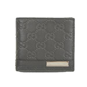 Auth Gucci Guccissima Gucci Shima Soho Bifold Wallet 233102 Men's  Wallet