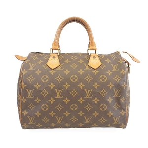 Auth Louis Vuitton Monogram Speedy30 M41526 Women's Boston