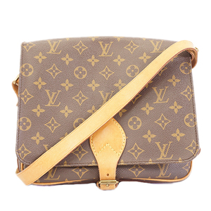 Auth Louis Vuitton Monogram Cartouchiere M51252 Women's Shoulder Bag