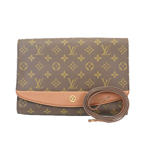 Auth Louis Vuitton Monogram Bordeaux M51797 Women's Shoulder Bag