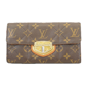 Auth Louis Vuitton Monogram Etoile Portofeuil Sara M66556 Women's Monogram Long