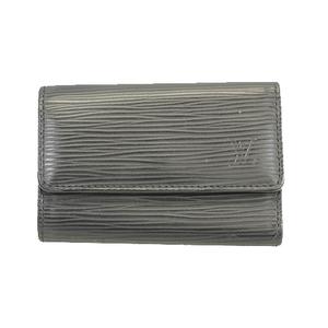 Auth Louis Vuitton Epi Multicles6 M63812 Men,Women,Unisex Epi Leather Key Case
