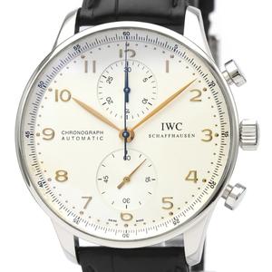 IWC ポルトギーゼ 自動巻き ステンレススチール(SS) メンズ スポーツウォッチ IW371401