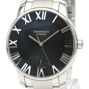 Tiffany Atlas Automatic Stainless Steel Men's Dress Watch Z1810.68.10A10A00A