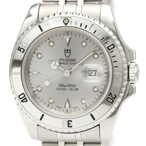 Tudor Mini Sub Automatic Stainless Steel Men's Sports Watch 73290