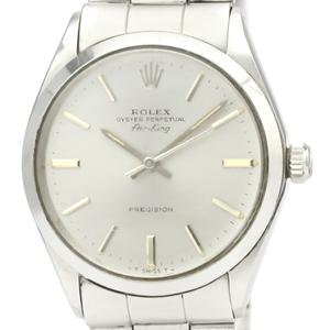 【ROLEX】ロレックス エアキング 5500 ステンレススチール 自動巻き メンズ 時計