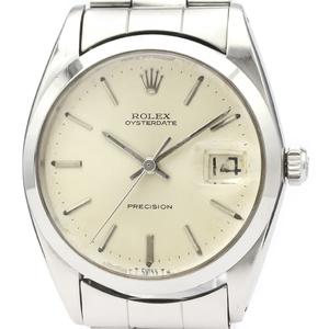 【ROLEX】ロレックス オイスター デイト プレシジョン 6694 ステンレススチール 手巻き メンズ 時計