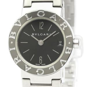 【BVLGARI】ブルガリ ブルガリブルガリ ステンレススチール クォーツ レディース 時計 BB23SS