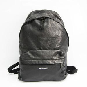 バレンシアガ(Balenciaga) EXPLORER 503221 ユニセックス レザー リュックサック ブラック