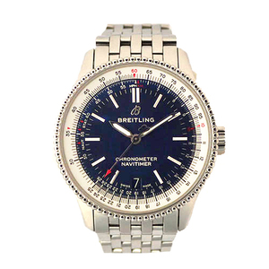 Auth Breitling Automatic Stainless Steel Men's Watch A17325