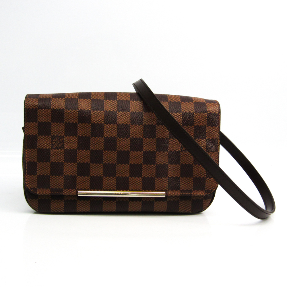 Louis Vuitton Damier Hoxton PM N41257 Women's Shoulder Bag Ebene
