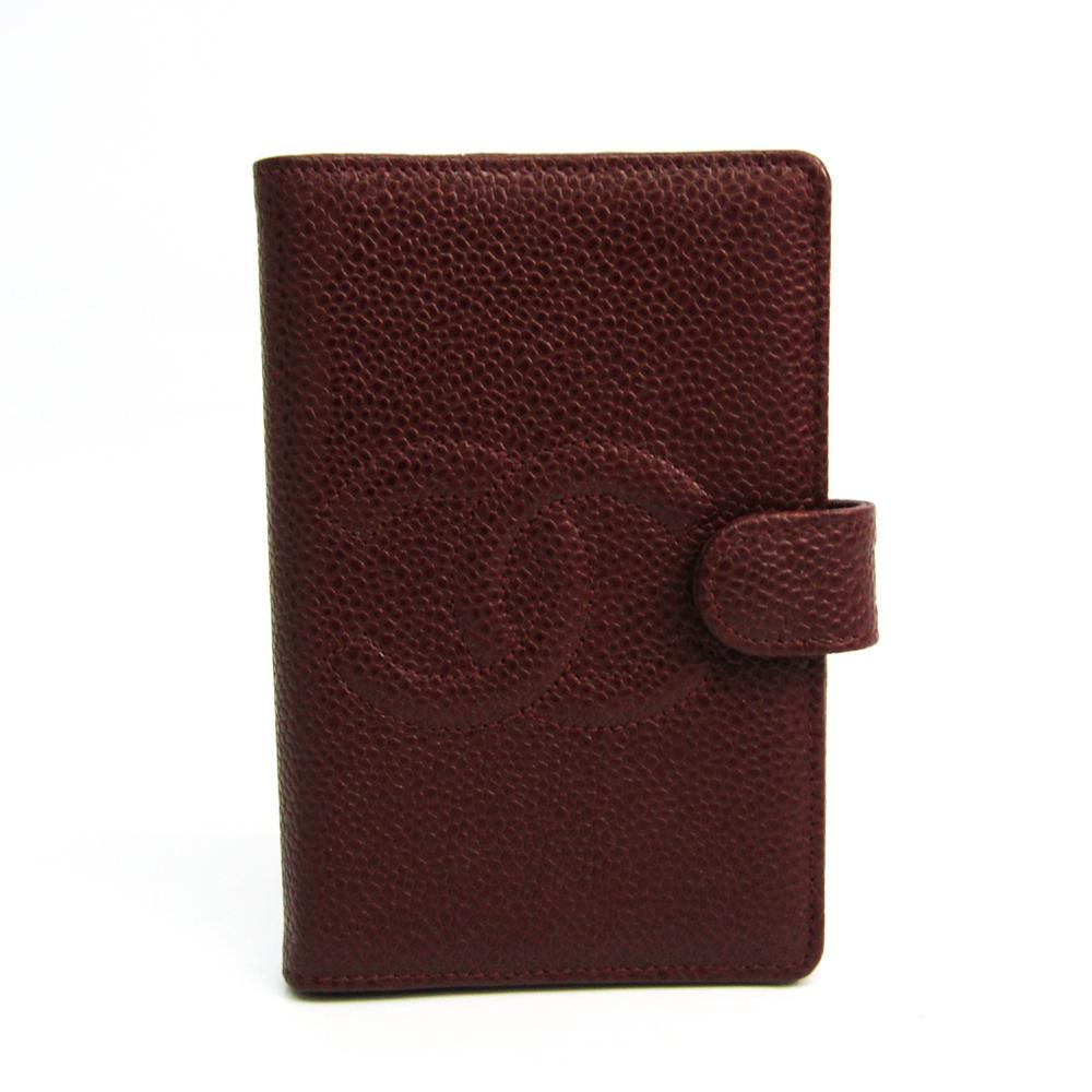 Chanel Pocket Size Planner Cover Dark Brown Agenda Mini A13506