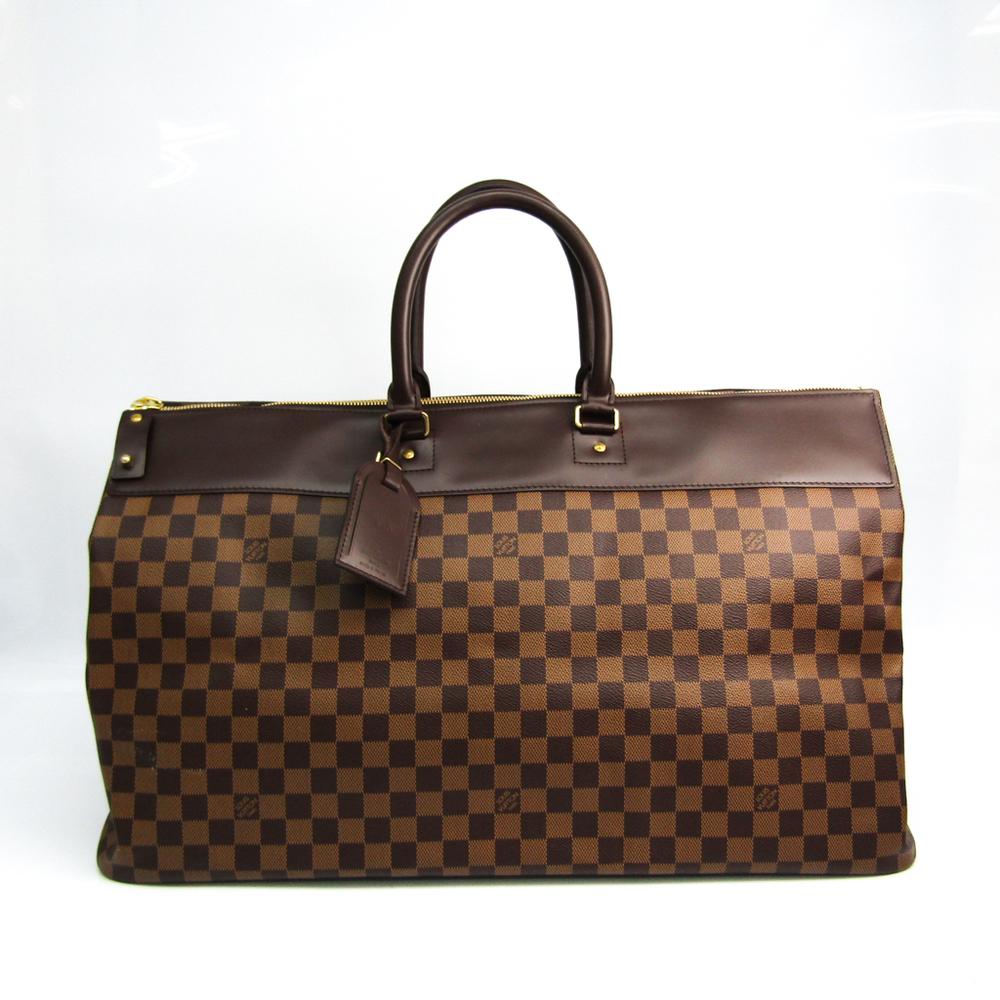 Louis Vuitton Damier Greenwich GM N41155 Boston Bag Ebene