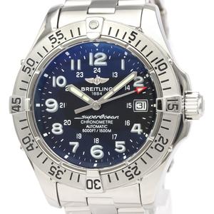 【BREITLING】ブライトリング コルト ステンレススチール 自動巻き メンズ 時計 A17380