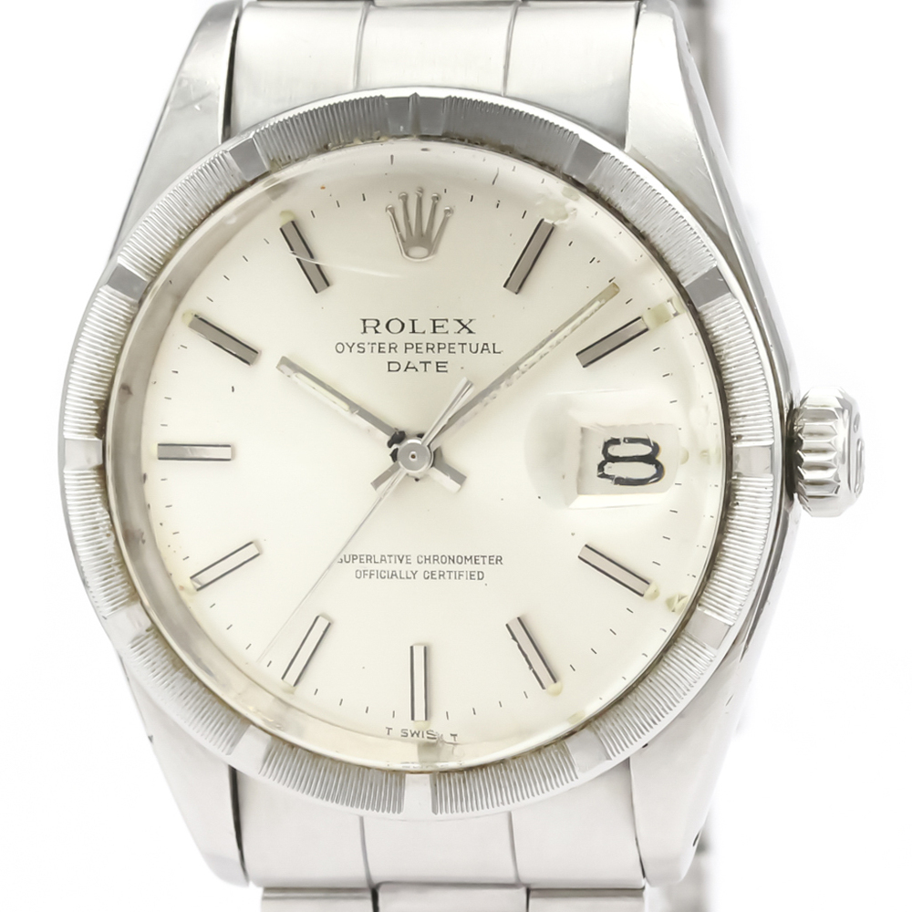 【ROLEX】ロレックス オイスター パーペチュアル デイト 1501 ステンレススチール 自動巻き メンズ 時計