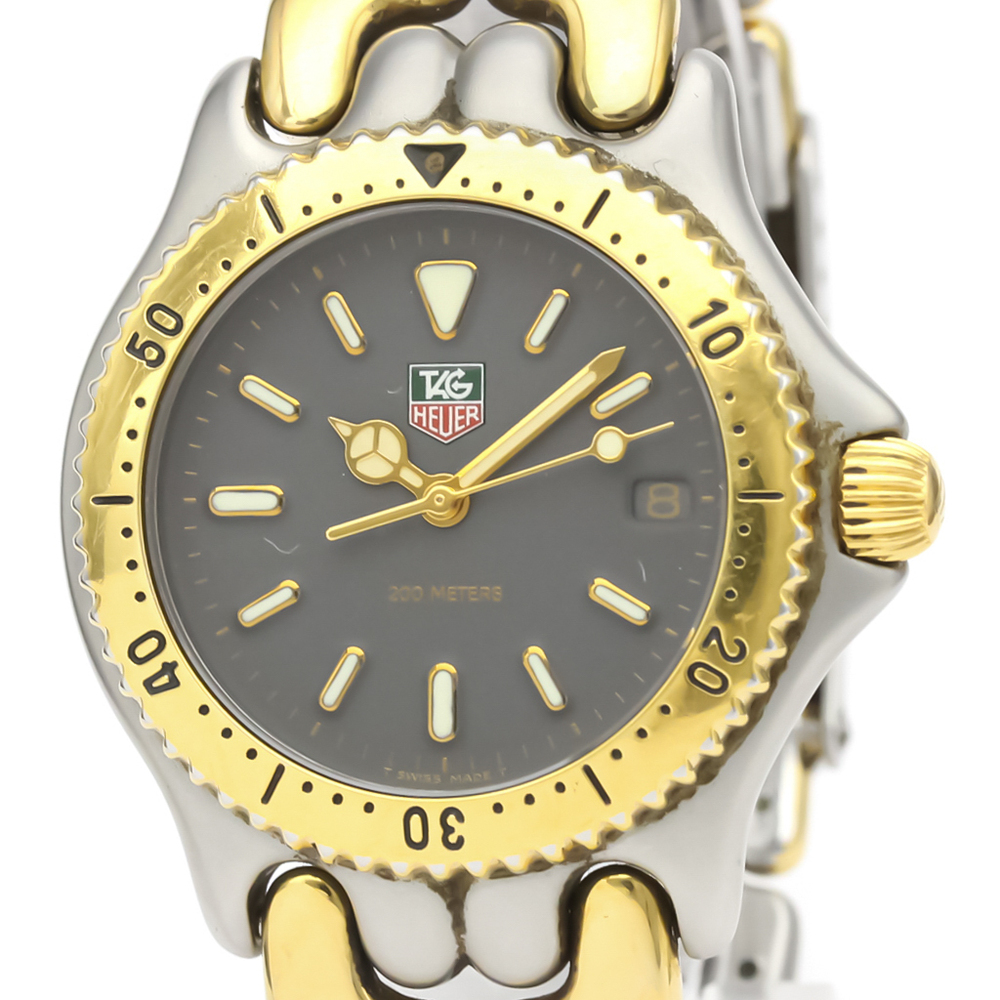 Tag Heuer Sel Quartz Gold Plated,Stainless Steel Unisex Dress Watch S95.213