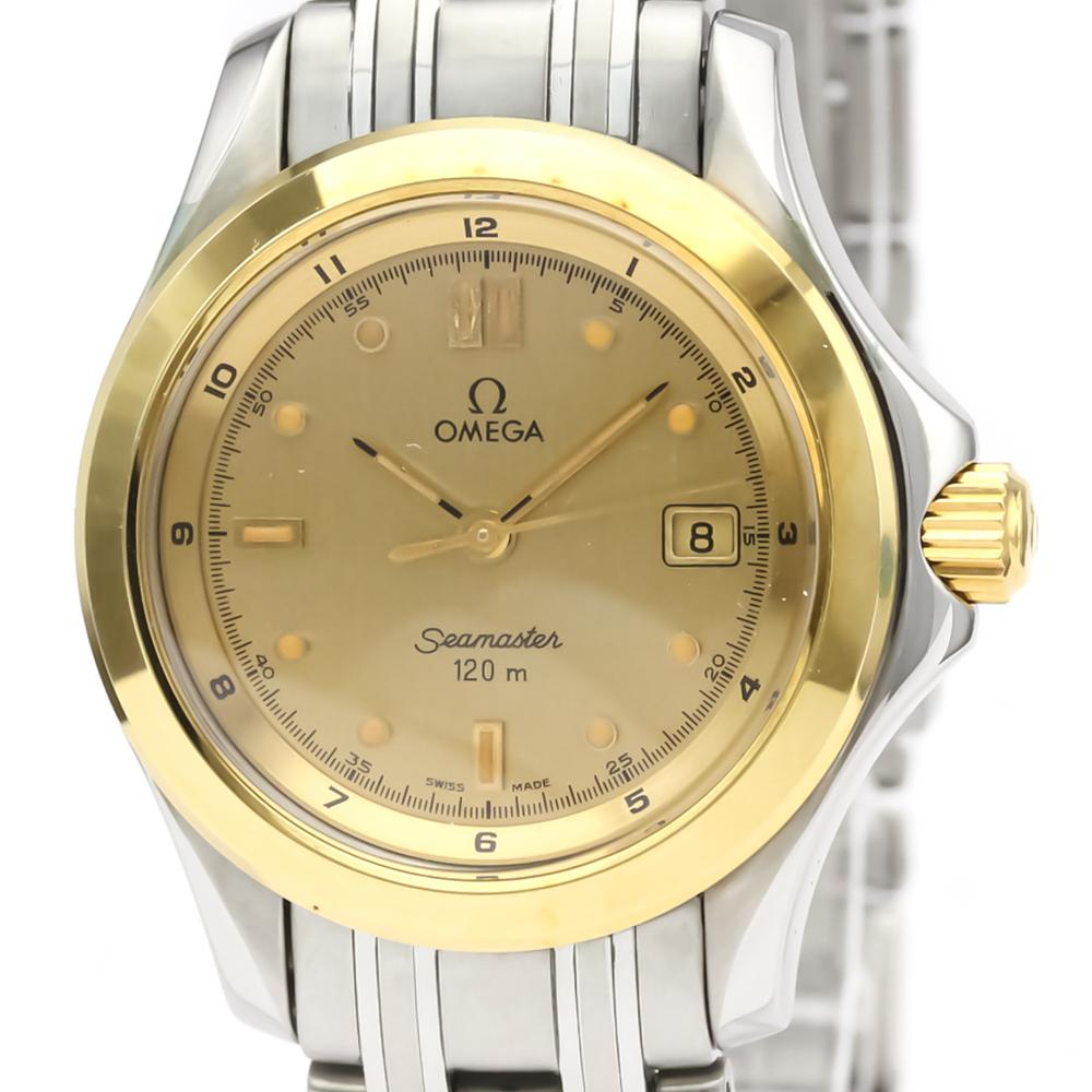 Omega Seamaster Quartz Stainless Steel,Yellow Gold (18K) Women's Sports Watch 2371.10