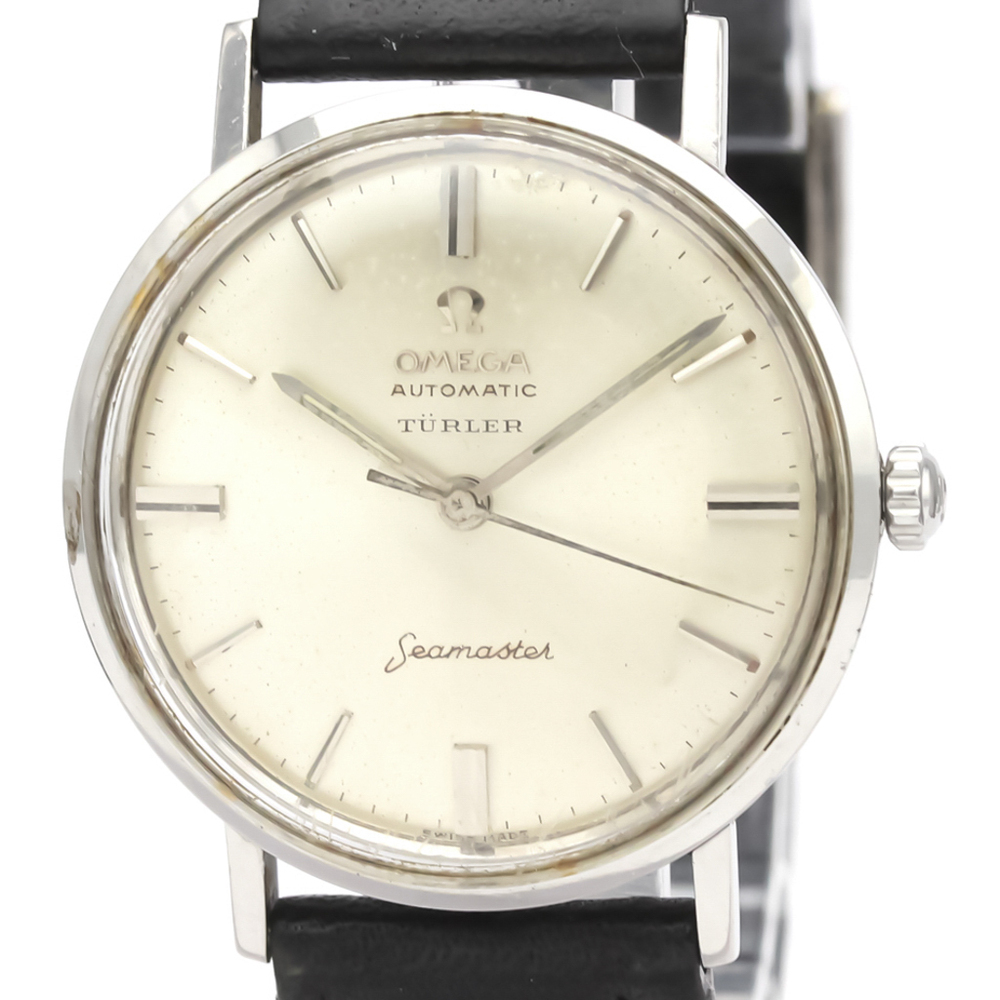 Omega Seamaster Automatic Stainless Steel Men's Dress Watch