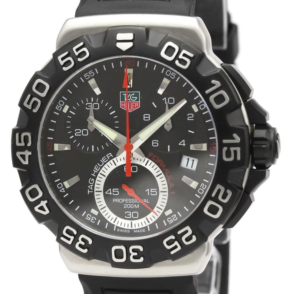Tag Heuer Formula 1 Quartz Stainless Steel Men's Sports Watch CAH1110