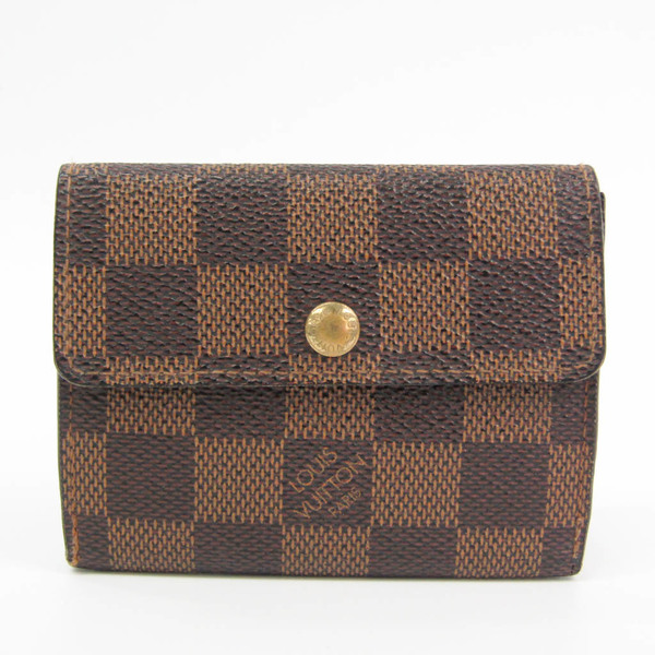 ルイ・ヴィトン(Louis Vuitton) ダミエ ラドロー N62925 ダミエキャンバス 小銭入れ・コインケース エベヌ