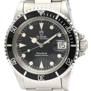 Tudor Submariner Automatic Stainless Steel Men's Sports Watch 76100