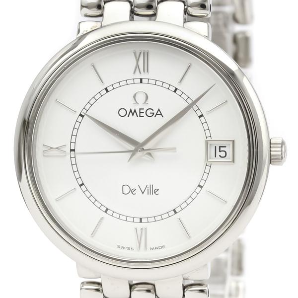 オメガ(Omega) デビル クォーツ ステンレススチール(SS) メンズ ドレスウォッチ 7514.31