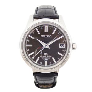 セイコー(Seiko) 自動巻き ステンレススチール(SS) 腕時計 スプリングドライブGMT  SBGE027 9R66-0AL0