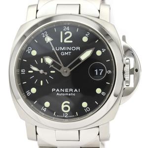 【PANERAI】パネライ ルミノール GMT ステンレススチール 自動巻き メンズ 時計 PAM00297