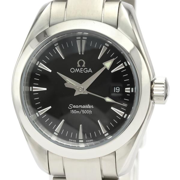 OMEGA Seamaster Aqua Terra Steel Quartz Ladies Watch 2577.50